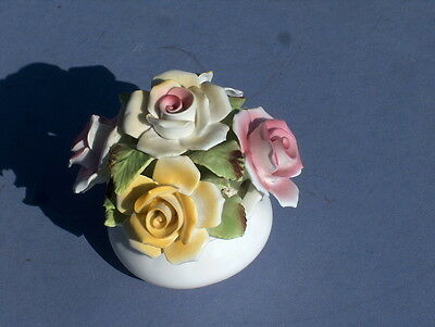 China Royale Stratford Fine Bone China Handcrafted Staffordshire Floral Bouquet