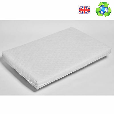 New 4Baby Chicco Quilted Next To Me Crib Hypoallergenic Foam Mattress 83X50X5Cm