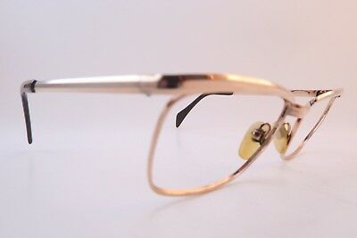 Vintage 60s gold filled INDO eyeglasses frames 25/000 size 50-18 made in Spain