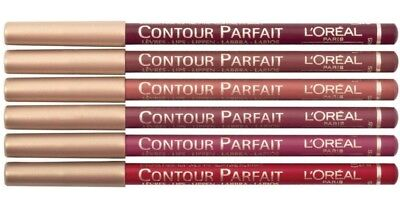 Loreal Contour Parfait High Precision Lip Liner  Pencil Brown Red Pink *choose*