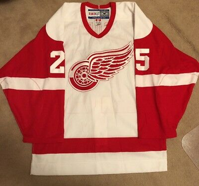 Vintage Detroit Red Wings Darren Mccarty Authentic Ccm On Ice Jersey Size 46