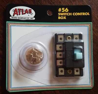 ATLAS HO #56 Switch Control Box NEW Sealed FREE US SHIPPING