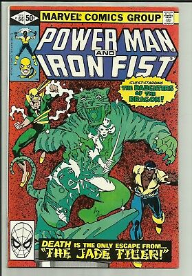 Power Man and Iron Fist #66 VF- Gammill, 2nd Sabretooth, Daughters of the Dragon