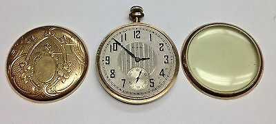 Elgin 16s 7 Jewels Model 7 Pocket Watch Est Year 1924  Parts AS IS Not Working.