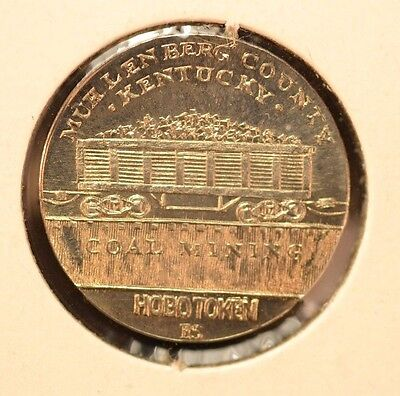 1999 Hobo Token / Coal Mining /ron Landis / Gallery Mint Museum Annual Token /#4