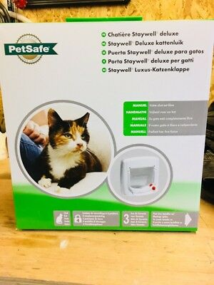 2 x PetSafe Cat Flap and 4 x Tunnel Extensions