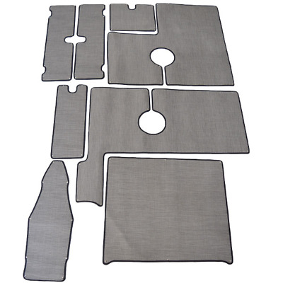 Striper Boat Snap In Mats | 230 Dual Console Gray (Set Of 7)