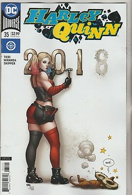 Dc Comics Harley Quinn #35 March 2018 Variant 1St Print Nm