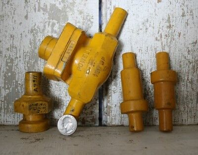 Vintage Industrial Wooden Foundry Mold Wall Decor Pattern Valve Machine Home Lot