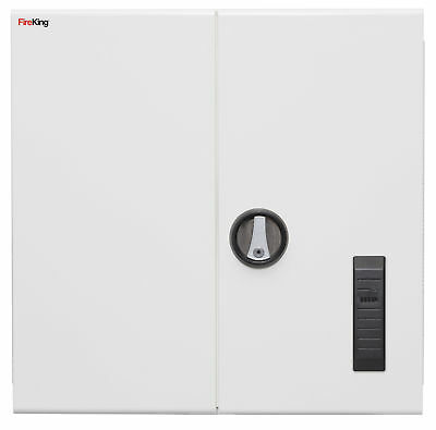 """Medical Storage Cabinet with Electronic Lock, 24"""" H, White  1 EA"""
