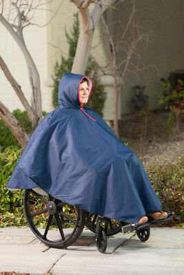 Wheelchair Winter Poncho (Forest)  1 EA
