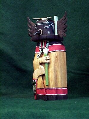 Hopi Kachina Doll - Angwusa, the Crow Kachina - Amazing!
