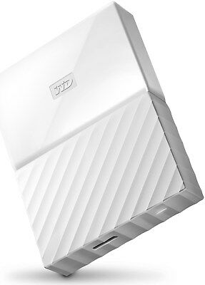 "WD My Passport Portable USB3.0  4.0 TB  2.5"" Zoll USB 2.0 USB 3.0,  weiß"
