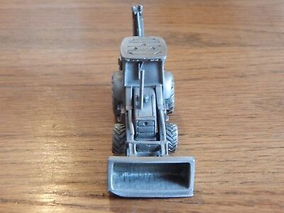 Pewter New Holland Tractor Backhoe Loader 1999