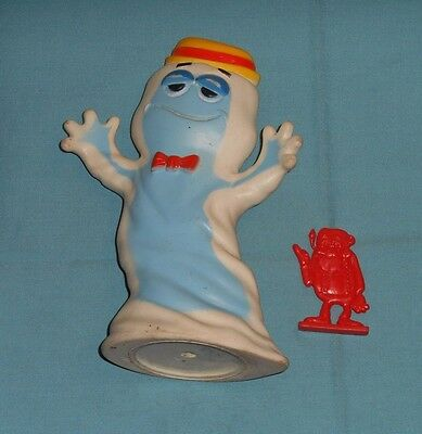vintage monster cereal BOOBERRY Boo Berry vinyl figure & FRANKENBERRY plastic