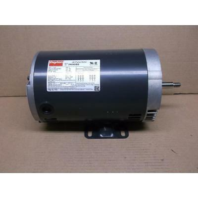 Dayton 1-1/2Hp Jet Pump Motor 208-230-460/60/3 Rpm:3450/1-Speed 188386