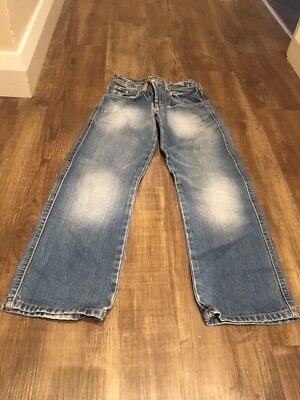 Boys H&M Blue Jeans Age 9-10 Years