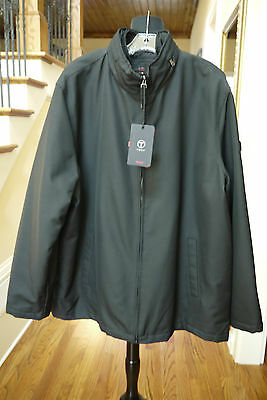 NWT TUMI T-Tech Men's Water Resistant Insolated Jacket in Black ~ Sz 2XL
