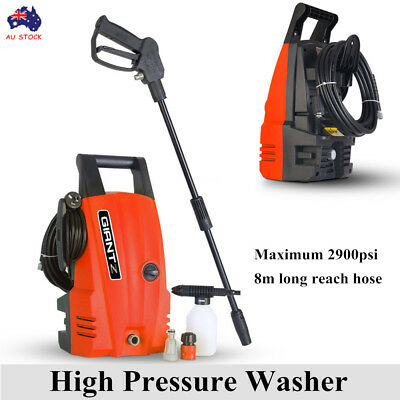 2900 PSI High Pressure Washer Electric Water Cleaner Gurney Pump 8M Long Hose