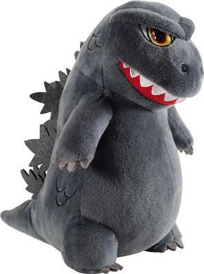 Kidrobot - HugMe Godzilla Plush Toy - Gray/Red/White