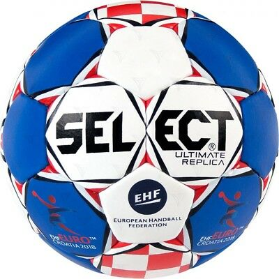 Select Ultimate Replica EHF EURO 2018 HR Kroatien Handball Ball CRO