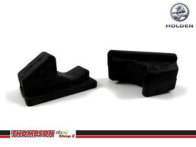 New Genuine Holden 2x VY VZ Glove Box Rubbers Bumpers Stops Ends: 92201416 x2