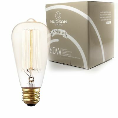 Vintage Light Antique Style Edison Bulb 60W E26 Dimmable Squirrel Cage Filament