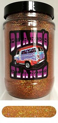 1lb Blakes Metal Flake .015 Copper Feel Prismatic Hot Rod Custom Automotive