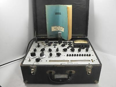 Hickok 752A Vintage Dynamic Mutual Conductance Tube Tester SN 297-00535