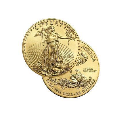 2019 Gold 1/2 oz Gold American Eagle $25 US Mint Gold Eagle Coin