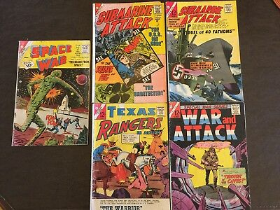 Silver Age Comic Lot - Space War + More!