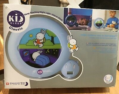 Claessens' Kids Kid Sleep Classic Sleep Trainer / Night Light / Alarm Clock