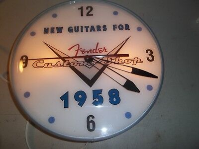 Vintage Back lighted Pam Clock
