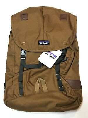 "Patagonia Arbor Backpack 26L Bear Brown 15"" Laptop New!"