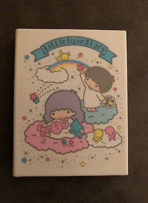 Sanrio Little Twin Stars Vintage Mirror and Comb Compact Set Hong Kong 1976 HTF