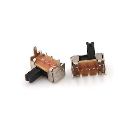 50PCS SK12D07 Right Angle Mini Slide Power Switch SPDT 2mm Pitch ATF