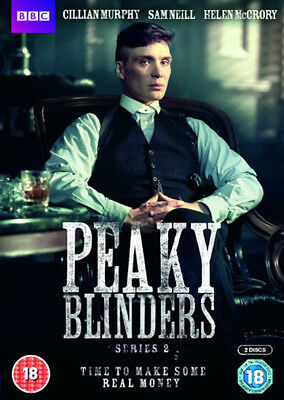 Peaky Blinders (Series 2) NEW PAL Cult 2-DVD Set Colm McCarthy Cillian Murphy