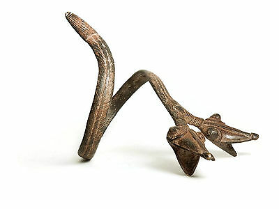 AFRICAN TRIBAL Burkina Faso Snake Form Currency/Protection Bracelet Armlet 2