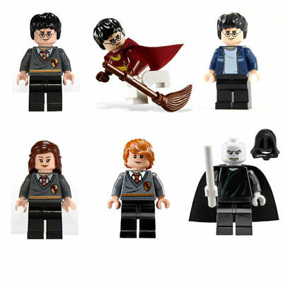 6 PCS Harry Potter Hermione Mini figures Building Bricks Toy Blocks