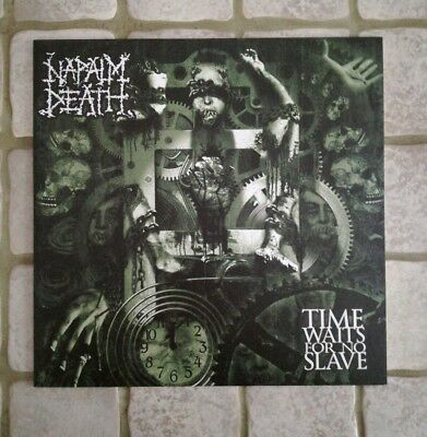 "NAPALM DEATH ""Time waits for no slave"" Vinyl"
