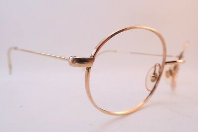 Vintage gold filled Morel eyeglasses frames mod 6000 size 52-20 France ****