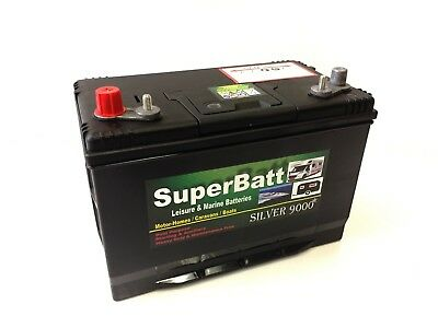 12V 120AH Dual Purpose Deep Cycle Leisure & Marine Battery SuperBatt DT120