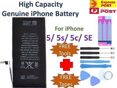 OEM Replacement Internal Battery for iPhone 5 5s 5c SE + Tools