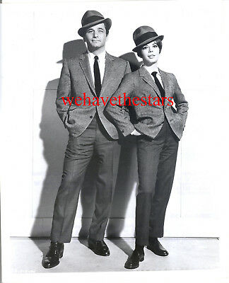 Vintage Natalie Wood Peter Falk IN MEN'S SUITS '66 PENELOPE Publicity Portrait