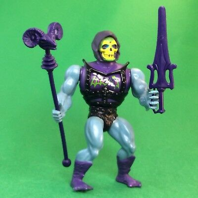 Masters of Universe  Motu Battle Armer Skeletor Mattel Vintage #1.165
