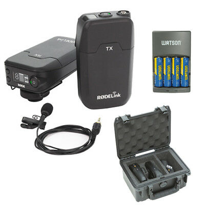 Rode RodeLink Wireless Filmmaker Kit with RodeLink Wireless Case and AA Charger