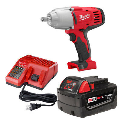 """Milwaukee 2663-21 M18 1/2"""" High-Torque Impact Wrench with Friction Ring Kit"""