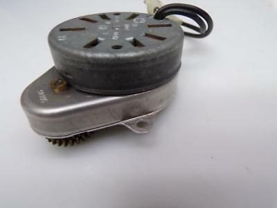 Lot of 4 Vintage Clock Motors Electric  Movements  for Parts or Repair Work E835