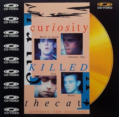 """Musik Laserdisc """" CURIOSITY KILLED THE CAT - RUNNING THE DISTANCE (8inch) """""""