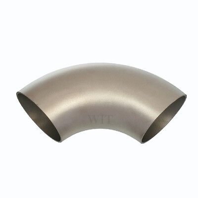 154mm Pipe Bend Stainless Steel Arc Welding 90° Curve VA Matte